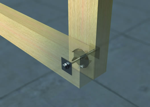 DSTC Double Sided Timber Connectors
